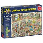 Jumbo Jan Van Haasteren The Library 1000p palapeli