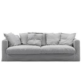 Decotique Decotique-Le Grand Air 3-seater Sofa Cotton, Light Grey