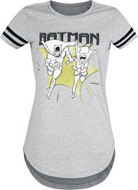 Batman - Batman And Robin - Run - T-paita - Naiset - Sävytetty harmaa