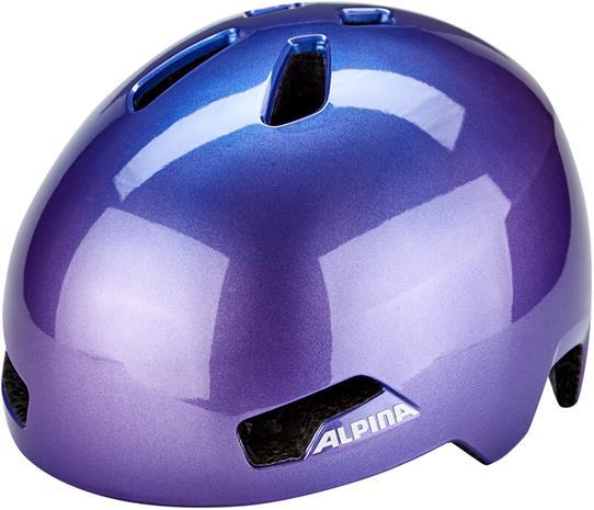 Alpina Hackney Helmet Kids, flip flop purple