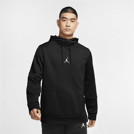 Jordan M J AIR THERMA FLC PO BLACK/BLACK/WHITE