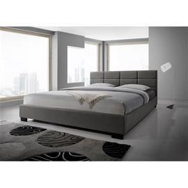 Atlanta-sänky, vaaleanharmaa, 120x200 cm