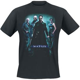 The Matrix - Poster - T-paita - Miehet - Musta