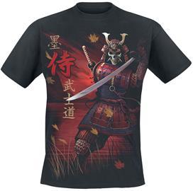 Spiral - Samurai - T-paita - Miehet - Musta