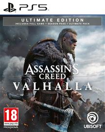 Assassin's Creed: Valhalla Ultimate Edition, PS5 -peli