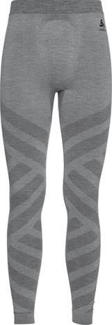Odlo Natural + Kinship Warm Bottom Long Pants Men, grey melange