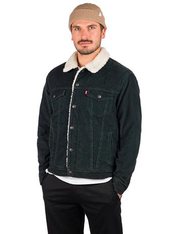 Levi's Sherpa Trucker Jacket scarab cord Miehet