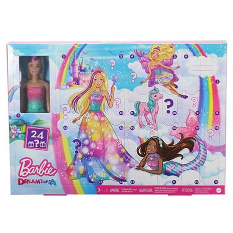 Barbie Dreamtopia GJB72, Joulukalenteri 2020