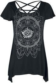Supernatural - Hunter - T-paita - Naiset - Musta