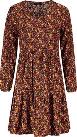 Sublevel - Ladies Allover Dress - Keskipitkä mekko - Naiset - Monivärinen