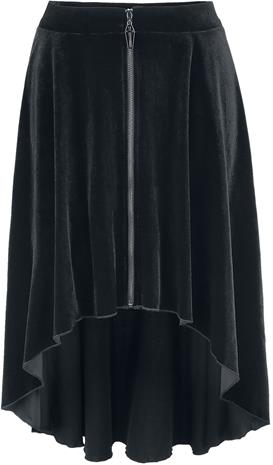Banned Alternative - Lily Skirt - Lyhyt hame - Naiset - Musta
