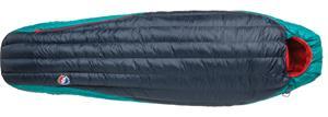 Big Agnes Daisy Mae 0 Sleeping Bag Petite Women, navy/aqua