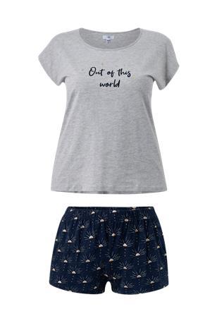 La Redoute Pyjamasetti, jossa shortsit ja lyhythihainen T-paita