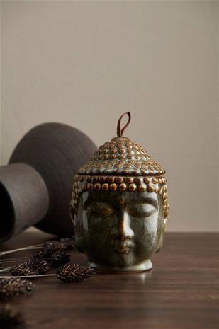 Ellos Kannellinen ruukku/purkki Buddha
