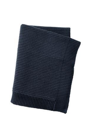Elodie Details Wool Knitted Blanket - Juniper Blue