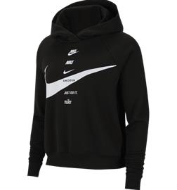 Nike W NSW SWSH HOODIE FLC BB BLACK