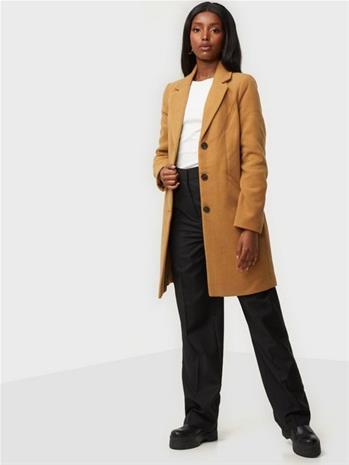 Vero Moda Vmcalacindy AW20 3/4 Jacket Boos Tobacco Brown