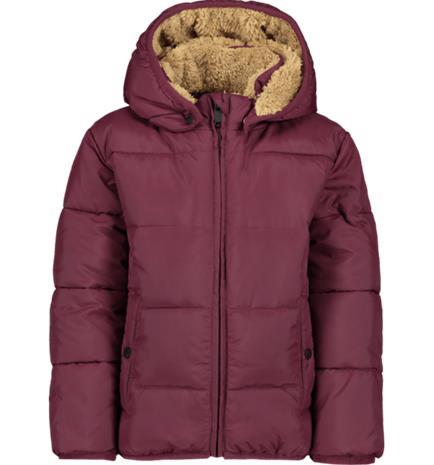 Everest K PUFFER JKT WINE RED