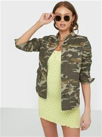 Only Onlohio Utility Jacket Cc Otw Camouflage