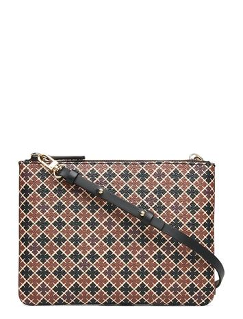 By Malene Birger Ivy Mini Bags Card Holders & Wallets Wallets Ruskea By Malene Birger LEAFS