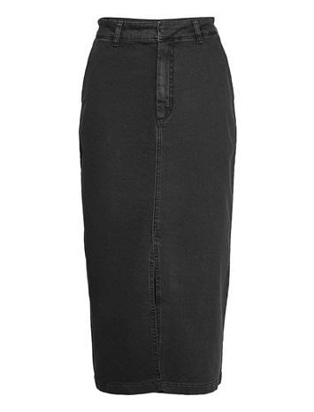 Gestuz Sofygz Skirt Ma20 Polvipituinen Hame Musta Gestuz WASHED BLACK