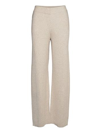 Lindex Trousers Chester Casual Housut Beige Lindex BEIGE
