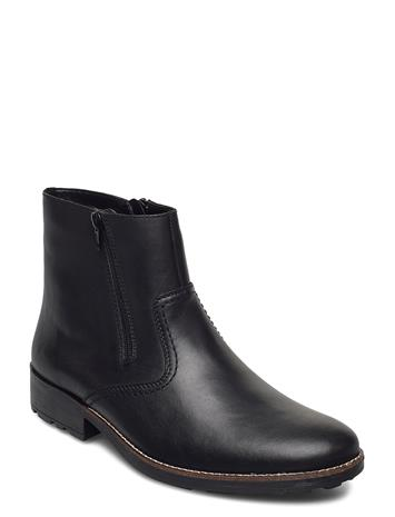 Rieker 36070-00 Shoes Boots Ankle Boots Ankle Boot - Flat Musta Rieker BLACK