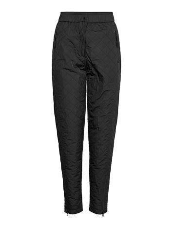 Ilse Jacobsen Pants Suoralahkeiset Housut Musta Ilse Jacobsen BLACK