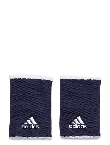 adidas Performance Tennis Wristband Large Accessories Training Equipments Workout Equipment Sininen Adidas Performance TECIND/WHITE/WHITE