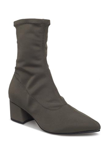 VAGABOND Mya Shoes Boots Ankle Boots Ankle Boot - Heel Vihreä VAGABOND OLIVE