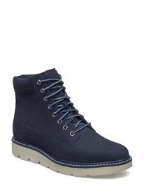 Timberland Kenniston 6in Lace Up Shoes Boots Ankle Boots Ankle Boot - Flat Sininen Timberland BLACK IRIS NUBUCK