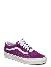 VANS Ua Old Skool Matalavartiset Sneakerit Tennarit Liila VANS (PIG SUEDE)GRPJUICESNWWHT