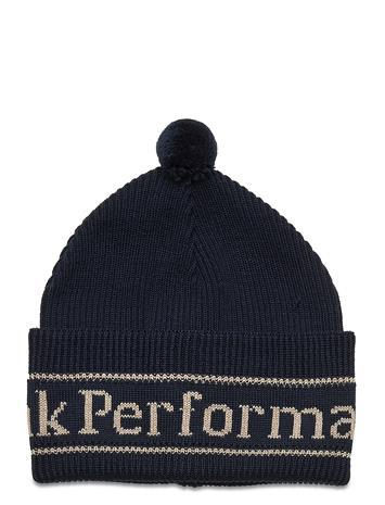 Peak Performance Aura Hat Coniferous Green Accessories Headwear Beanies Sininen Peak Performance BLUE SHADOW
