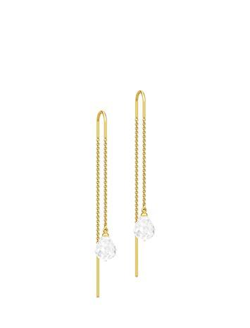 Julie Sandlau Evening Dew Earrings - Gold/Blue Korvakoru Korut Kulta Julie Sandlau WHITE
