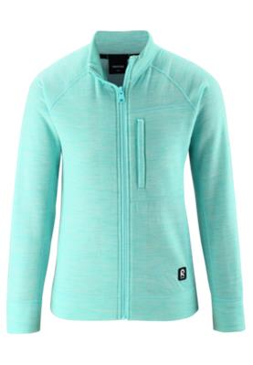 Reima Mists merinovillainen välitakki Light turquoise