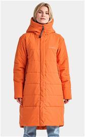Didriksons TINDRA naisten talviparka, oranssi 42
