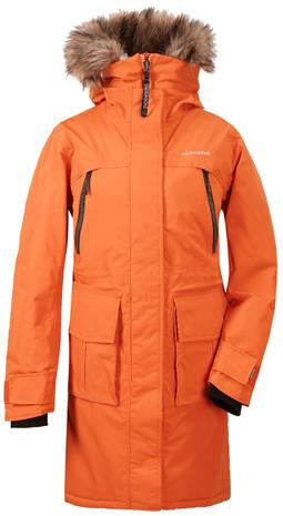 Didriksons LEONA naisten talviparka, oranssi 40