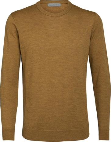 Icebreaker Shearer Crew Sweater Men, saffron heather