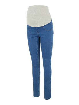 Mamalicious Mlzibo Slim Leggins Medium Blue Denim XL