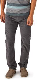 Patagonia Straight Fit Cord Pants Men, forge grey w/forge grey