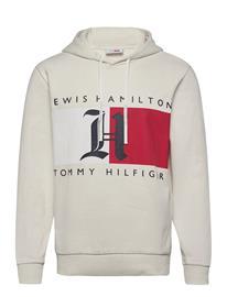 Tommy Hilfiger Lh Fleece Logo Hoody Huppari Kermanvärinen Tommy Hilfiger IVORY