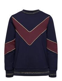 The New Rosa Sweatshirt Svetari Collegepaita Sininen The New NAVY BLAZER