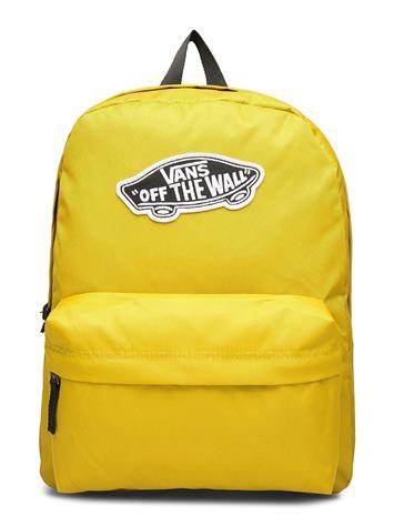 VANS Realm Backpack Reppu Laukku Keltainen VANS OLIVE OIL