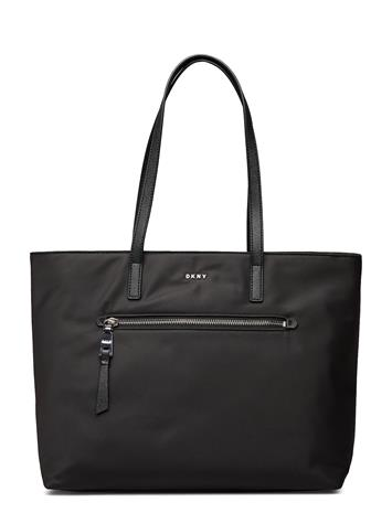DKNY Bags Gia Tote Shopper Laukku Musta DKNY Bags BLACK/SILVER