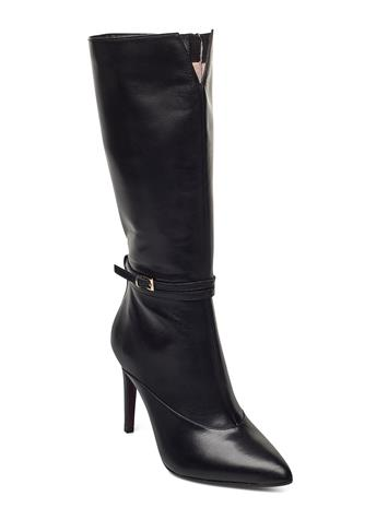 Tamaris Heart & Sole Woms Boots Korkeavartiset Saapikkaat Musta Tamaris Heart & Sole BLACK