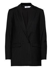 Stylein Benito Jacket Bleiseri Puvun Takki Musta Stylein PINSTRIPE