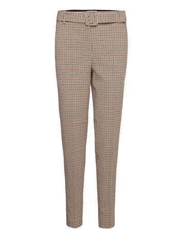 Esprit Collection Pants Woven Casual Housut Ruskea Esprit Collection TOFFEE 3