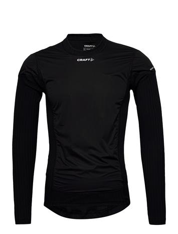 Craft Active Extreme X Wind Ls M T-shirts Long-sleeved Musta Craft BLACK/GRANITE