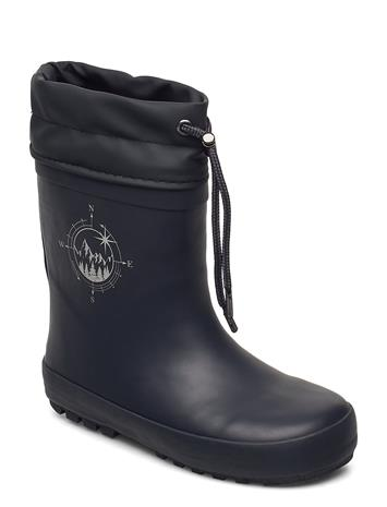 Wheat Thermo Rubber Boots Kumisaappaat Musta Wheat INK