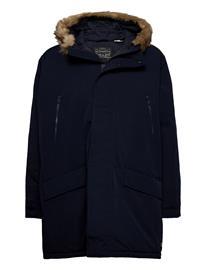 LEVI´S Men Woodside Long Utlty Prka Night Outerwear Jackets Anoraks Sininen LEVI´S Men BLUES